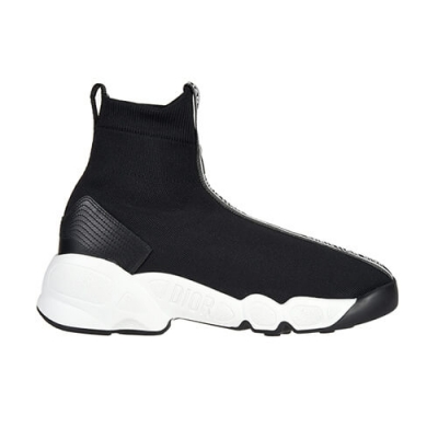 Текстильные чёрные кроссовки CHRISTIAN DIOR (FRANCE)