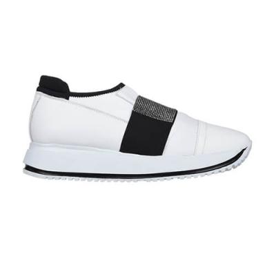 Кожаные белые кроссовки DIGIADA (ITALY)