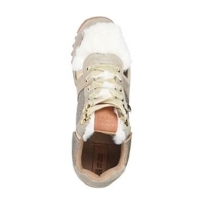Текстильные бежевые кроссовки GIOSEPPO (ITALY)