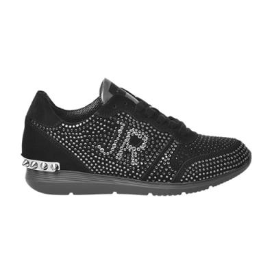 Замшевые чёрные кроссовки JOHN RICHMOND (ITALY)