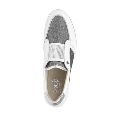 Кожаные белые кроссовки LAB MILANO (ITALY)