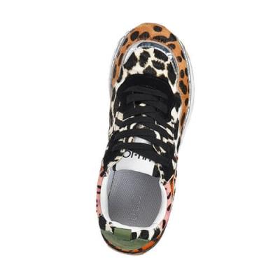 Кожаные цветные кроссовки LIU JO (ITALY)