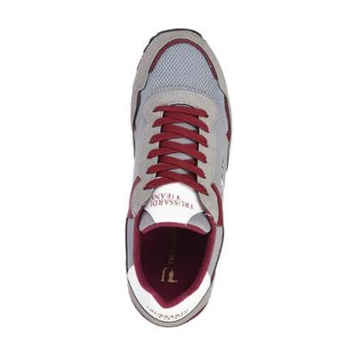 Текстильные цветные кроссовки TRUSSARDI JEANS (ITALY)