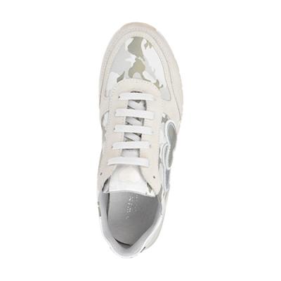 Замшевые бежевые кроссовки TWIN-SET (ITALY)