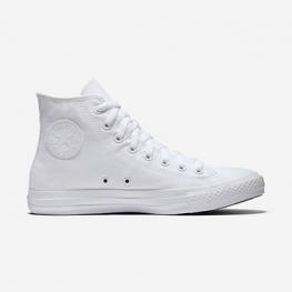 Кеды Converse ® Классика Высокие Белые  — Мужские Конверсы — 1U646