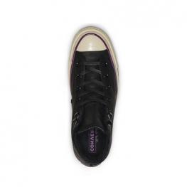 Кеды Converse 70 ® Оригинал Чёрные Высокие — Мужские Кожаные Конверсы — 162433C