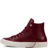 Кеды (Оригинал) Converse Chuck Taylor All Star II Mesh Back Leather Высокие Красные (Red)