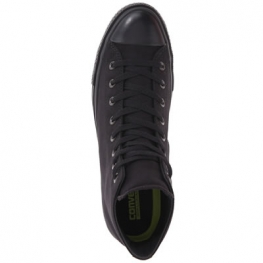 Кеды (Оригинал) Converse Chuck Taylor All Star II Premium Canvas Mono Высокие Чёрные (Black)