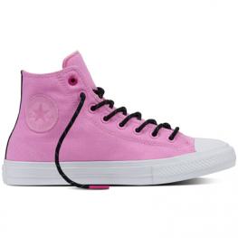 Кеды (Оригинал) Converse Chuck Taylor All Star II Shield Canvas Высокие  Розовые (Pink ... cce7e294923