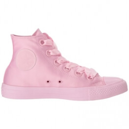 Кеды (Оригинал) Converse Chuck Taylor All Star Canvas Big Eyelets Высокие Розовые (Cherry Blossom)