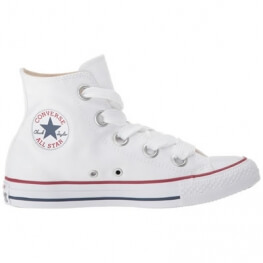 Кеды (Оригинал) Converse Chuck Taylor All Star Canvas Big Eyelets Высокие Белые (White)