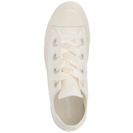 Кеды (Оригинал) Converse Chuck Taylor All Star Canvas Big Eyelets Низкие Белые (Egret)