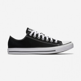 Кеды Converse ® Классика Чёрные Низкие — Мужские Конверсы — M9166C