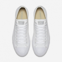 Кеды Converse ® Классика Низкие Белые — Мужские Конверсы — 1U647