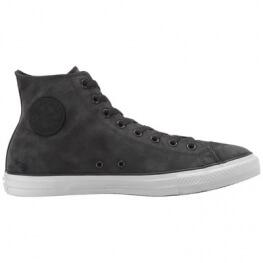 Кеды Converse ® Оригинал Серые Высокие — Мужские Кожаные Конверсы — 146952C