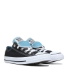 Кеды (Оригинал) Converse Chuck Taylor All Star Double Tongue Низкие Чёрные (Black Mint)