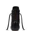 Ботинки (Оригинал) Converse Chuck Taylor All Star Hi-Rise Boot Leather + Fur Высокие Чёрные (Black)