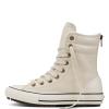 Ботинки (Оригинал) Converse Chuck Taylor All Star Hi-Rise Boot Leather + Fur Высокие Белые (White)