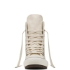 Ботинки (Оригинал) Converse Chuck Taylor All Star Hi-Rise Boot Leather + Fur Высокие Белые (White)