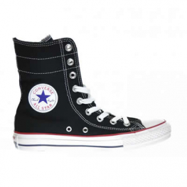 Кеды (Оригинал) Converse Chuck Taylor All Star Hi-Rise Высокие Чёрные (Black)