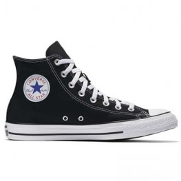 Кеды Converse ® Классика Чёрные Высокие — Мужские Конверсы — M9160C