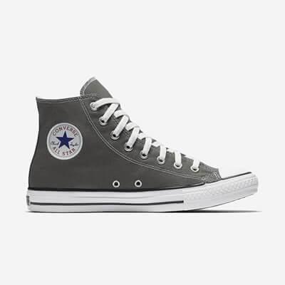 Кеды (Оригинал) Converse Chuck Taylor All Star Высокие Серые (Charcoal)