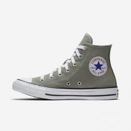 Кеды (Оригинал) Converse Chuck Taylor All Star Высокие Тёмная Штукатурка (Dark Stucco)