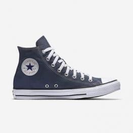 Кеды (Оригинал) Converse Chuck Taylor All Star Высокие Тёмно-Синие (Navy)