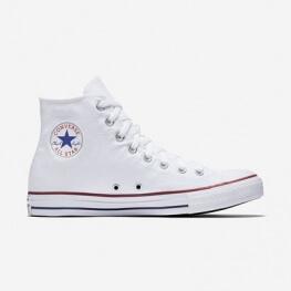 Кеды (Оригинал) Converse Chuck Taylor All Star, Высокие Оптический Белый (Optical White)
