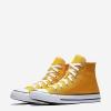 Кеды (Оригинал) Converse Chuck Taylor All Star Высокие Солнечный Луч (Orange Ray)