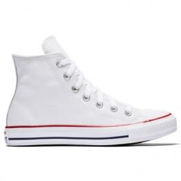 Кеды Converse ® Классика Белые Высокие — Мужские Кожаные Конверсы — 132169C