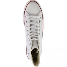 Кеды (Оригинал) Converse Chuck Taylor All Star Leather Высокие Белые (White)