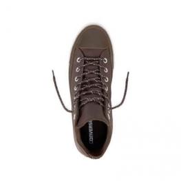 Кеды (Оригинал) Converse Chuck Taylor All Star Leather Thermal Высокие Темный Шоколад (Dark Chocolate)