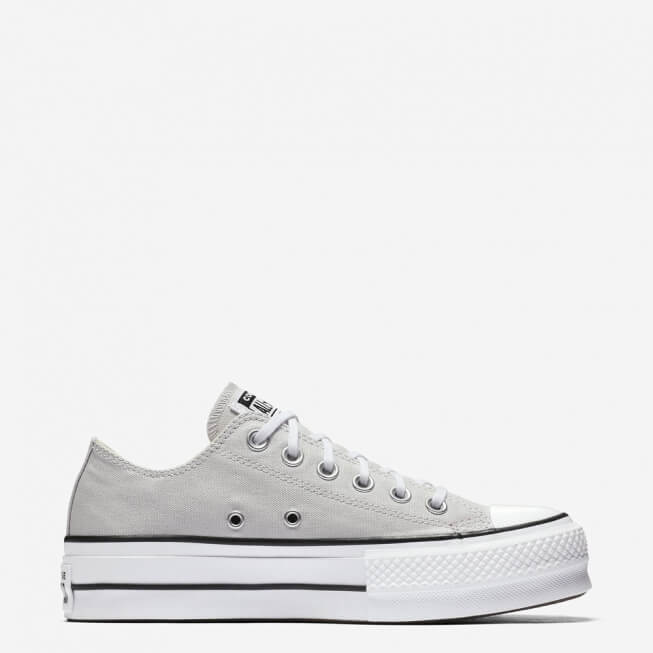 Кеды (Оригинал) Converse Chuck Taylor All Star Lift Низкие Серые (Mouse)