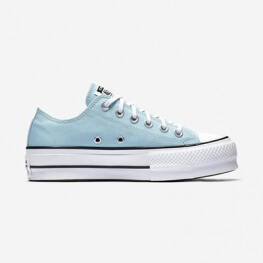 Кеды (Оригинал) Converse Chuck Taylor All Star Lift Низкие Бирюза (Ocean Bliss)