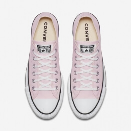 Кеды (Оригинал) Converse Chuck Taylor All Star Lift Низкие Розовые (Pink)