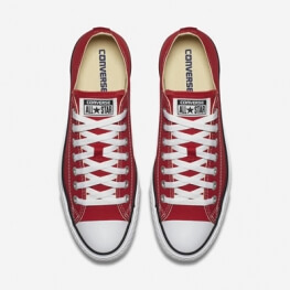 Кеды Converse ® Классика Красные Низкие — Мужские Конверсы — M9696C