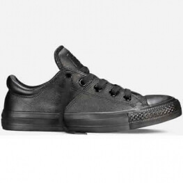 Кеды (Оригинал) Converse Chuck Taylor All Star Madison Ox Низкие Чёрные (Black)