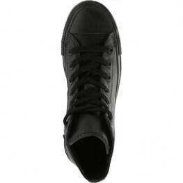 Кеды Converse ® Классика Высокие Чёрные — Мужские Кожаные Конверсы — 135251C