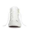 Кеды (Оригинал) Converse Chuck Taylor All Star Mono Leather Высокие Белые (White)