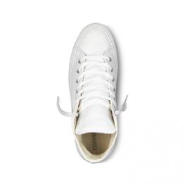 Кеды Converse ® Классика Высокие Белые — Мужские Кожаные Конверсы — 1T406