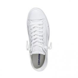 Кеды Converse ® Классика Низкие Белые — Мужские Кожаные Конверсы — 136823C
