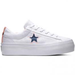 Кеды Converse ® Оригинал Белые Низкие Платформа — Женские Конверсы — 560700C
