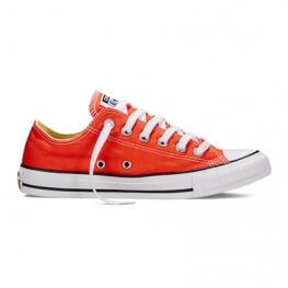Кеды (Оригинал) Converse Chuck Taylor All Star Ox, Низкие, Оранжевые (Fire)