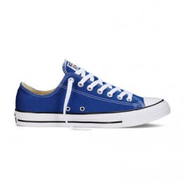 Кеды (Оригинал) Converse Chuck Taylor All Star Ox Низкие Синие (Roadtrip Blue)