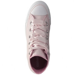 Кеды (Оригинал) Converse Chuck Taylor All Star Pastel Canvas Big Eyelets Высокие Роза (Barely Rose)
