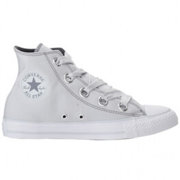 Кеды (Оригинал) Converse Chuck Taylor All Star Pastel Canvas Big Eyelets Высокие Платина (Pure Platinum)