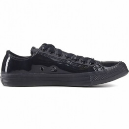 Кеды (Оригинал) Converse Chuck Taylor All Star Patent Ice Низкие Чёрные  (Black) ... 7aa16e1c0cbc3