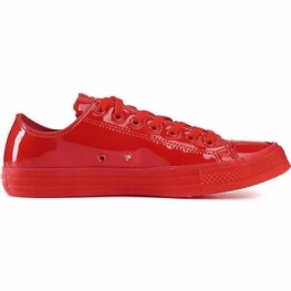 Кеды (Оригинал) Converse Chuck Taylor All Star Patent Ice Низкие Красные (Red)