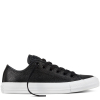 Кеды (Оригинал) Converse Chuck Taylor All Star Pebbled Leather Низкие Чёрные (Black)
